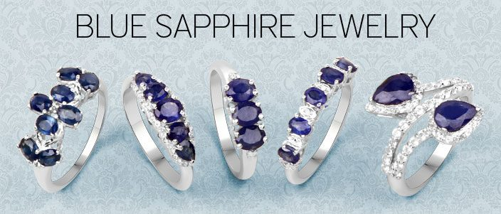 Blue Sapphire Jewelry: A rock attaining popularity all over!