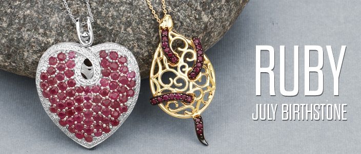 Since a divine power in yourself wearing stunning July Birthstone Ruby!