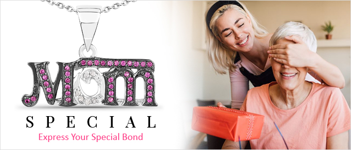 Mother's Day Jewelry. Express Your Special Bond